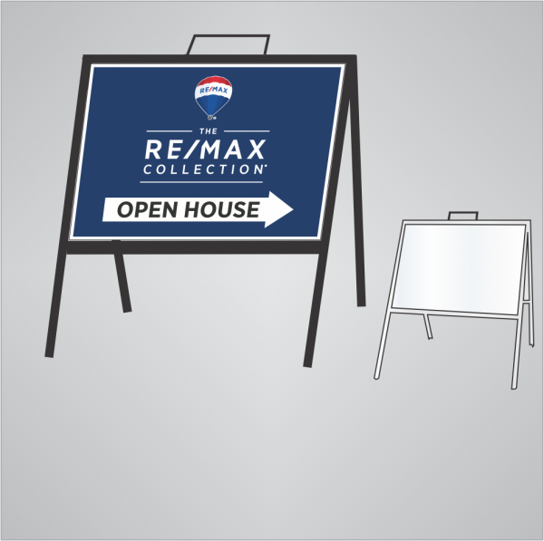 A-Frame Stand for The RE/MAX Collection Panels