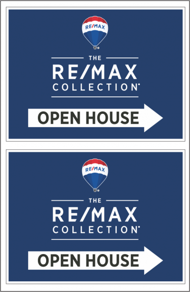 The RE/MAX Collection A-Frame Panels 6MM Coroplast®