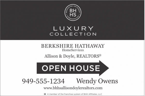 LUXURY COLLECTION 12x18 OPEN HOUSE Black/White .063 Aluminum Reflective