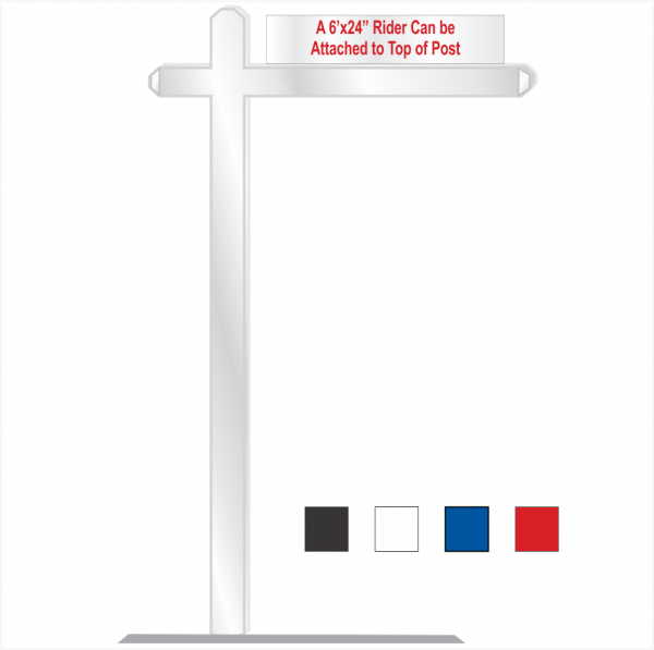 Aluminum COLLECTION Swing Post