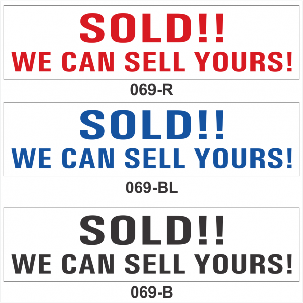 SOLD!!  WE CAN SELL YOURS! (SRID-069)