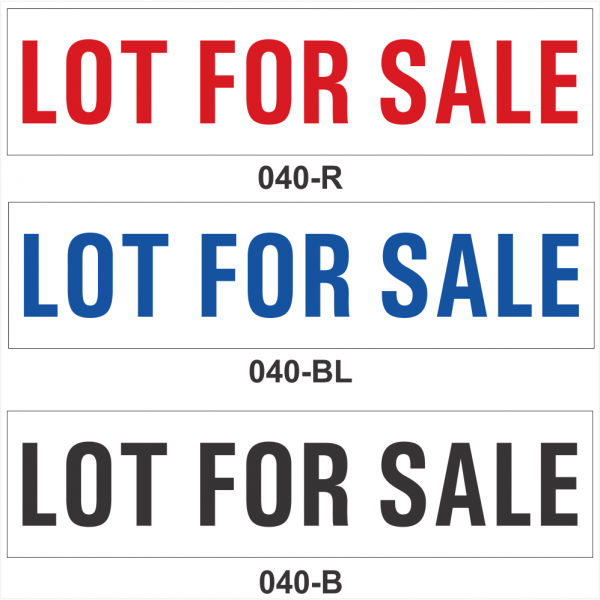 LOT FOR SALE (SRID-040)