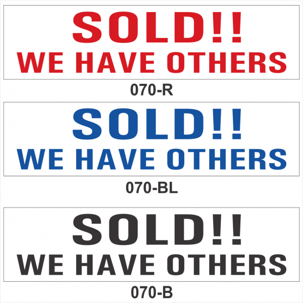 SOLD!!  WE HAVE OTHERS (SRID-070)