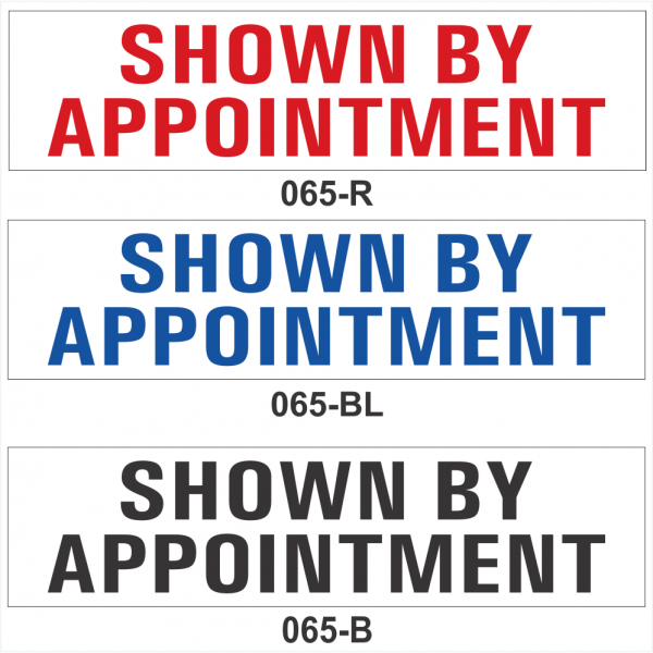 SHOWN BY APPOINTMENT (SRID-065)