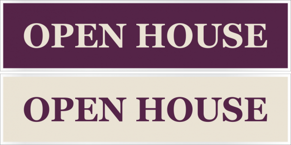 6x24 Cabernet/Cream Stock Rider - OPEN HOUSE