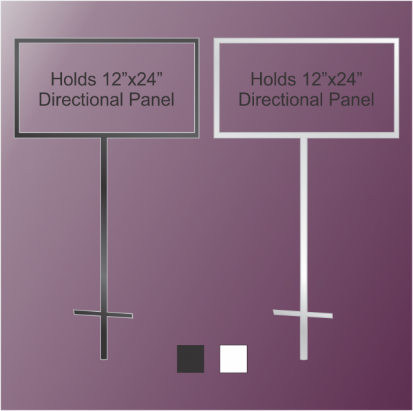 12x24 Directional Stand