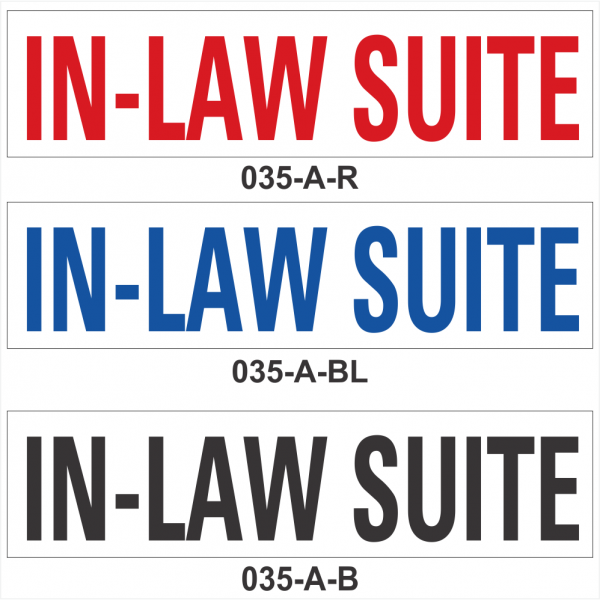 IN-LAW SUITE (SRID-035-A)